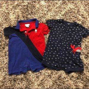 Other - Two boy's rompers-9mo